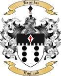 Branker Family Crest from England