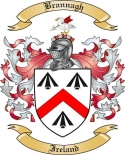 Brannagh Family Crest from Ireland