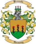 Brannde Family Crest from Germany