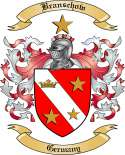 Branschow Family Crest from Germany