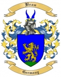 Brau Family Crest from Germany