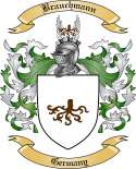 Brauchmann Family Crest from Germany