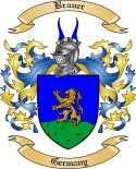 Brauer Family Crest from Germany