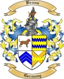 Braun Family Crest from Germany