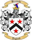 Braunche Family Crest from England