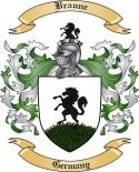 Braune Family Crest from Germany2