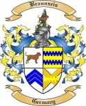 Braunseis Family Crest from Germany
