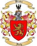 Brava Family Crest from Italy