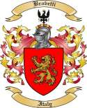 Bravetti Family Crest from Italy