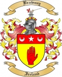 Brawney Family Crest from Ireland