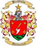 Brechbielin Family Crest from Switzerland