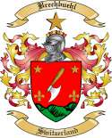 Brechbuehl Family Crest from Switzerland
