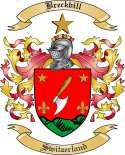 Breckbill Family Crest from Switzerland