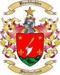 Breckbuhler Family Crest from Switzerland