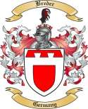 Breder Family Crest from Germany