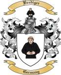 Brediger Family Crest from Germany