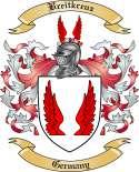 Breitkreuz Family Crest from Germany