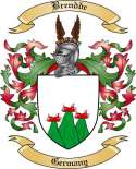 Brendde Family Crest from Germany2