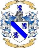 Bresee Family Crest from France