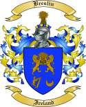 Breslin Family Crest from Ireland