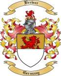 Brewer Family Crest from Germany