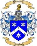 Brewester Family Crest from England