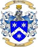 Brewester Family Crest from Scotland