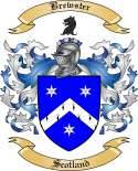 Brewster Family Crest from Scotland