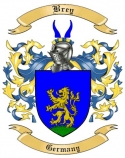 Brey Family Crest from Germany