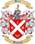 Brice Family Crest from Scotland