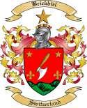 Brickbiel Family Crest from Switzerland