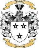 Bricker Family Crest from Germany