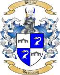 Brickl Family Crest from Germany