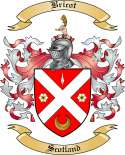 Bricot Family Crest from Scotland