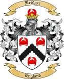 Bridger Family Crest from England