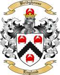 Bridghouse Family Crest from England