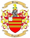 Brigg Family Crest from England