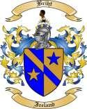 Briht Family Crest from Ireland