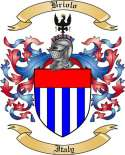 Briolo Family Crest from Italy