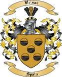 Brisas Family Crest from Spain