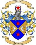 Brits Family Crest from Germany