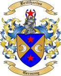 Brittharius Family Crest from Germany