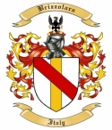 Brizzolara Family Crest from Italy