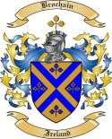 Brochain Family Crest from Ireland