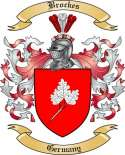 Brockes Family Crest from Germany