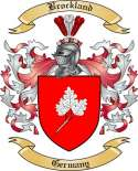 Brockland Family Crest from Germany