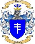 Brod Family Crest from Poland