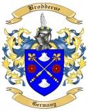 Brodderne Family Crest from Germany
