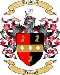 Brodrick Family Crest from Ireland