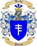 Brody Family Crest from Poland